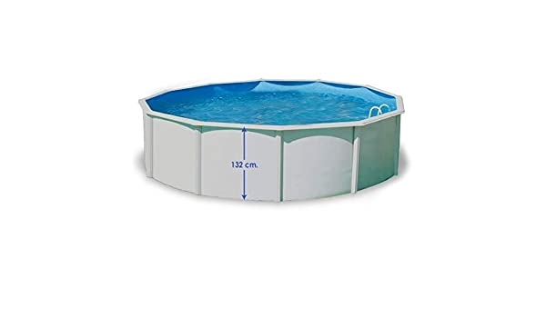 TOI - Piscina MAGNUM COMPACTA CIRCULAR 550x132 cm Filtro 3,6 m³/h: Amazon.es: Juguetes y juegos