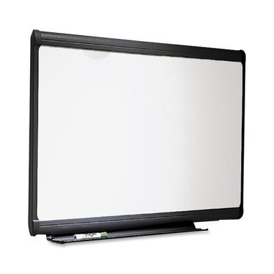 Quartet Premium Dry-Erase Board, Porcelain/Steel, 72 x 48, White/Gray Frame, EA - QRTP557G - Premium Porcelain Markerboard