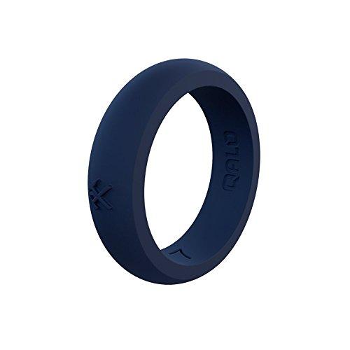 柔らかい QALO-レディースシリコンリング(品質は、陸上競技、愛とアウトドア)は7-18のサイズを B076QLYNYT Tru Q2X Tru Blue Silicone - Blue Silicone Ring 6 6|Q2X Tru Blue - Silicone Ring, TIARA:34022918 --- arianechie.dominiotemporario.com
