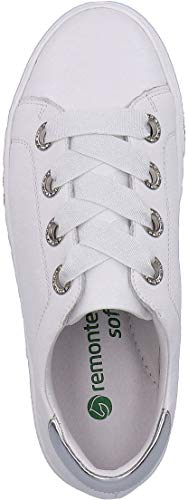 Donna Remonte Remonte Stringate Scarpe Bianco Scarpe UwqIz5x