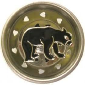 Black Bear Lodge Kitchen Sink Strainer Drain Plug Stopper