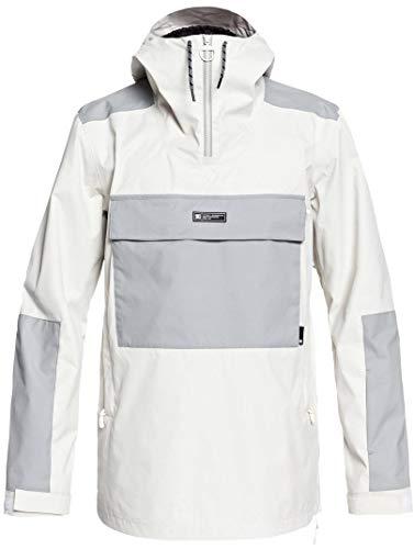 DC Men's Rampart Snow Jacket, Silver Birch L