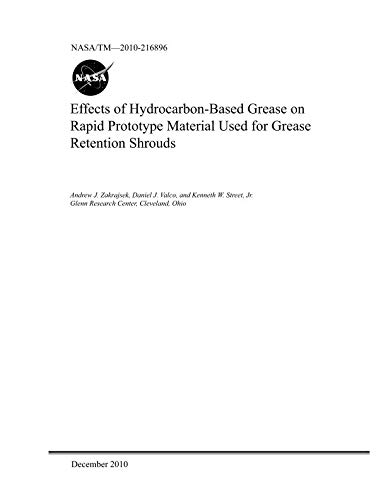 Effects of Hydrocarbon-Based Grease on Rapid Prototype Material Used for Grease Retention Shrouds