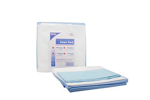 Dukal 7122 Linen Pack incl 1 ea: pillow case, flat sheet,...