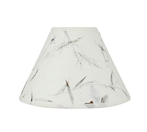 Aspen Creative White, 58752 Transitional Hardback Empire Shape UNO Construction Lamp Shade, 10