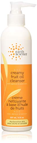 Earth Science A-D-E Creamy Fruit Oil Cleanser, 8 fl. oz. (Pack of 2) -