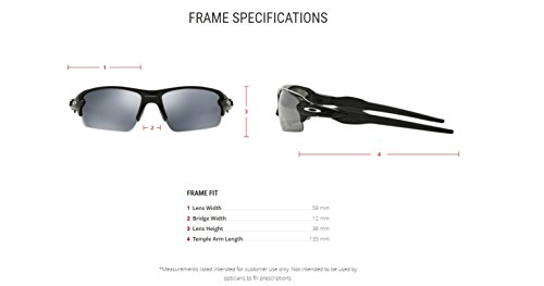 Polished Black Sonnenbrille 0 Oakley Iridium FLAK Black Polarized OO9295 2 YqwXf6