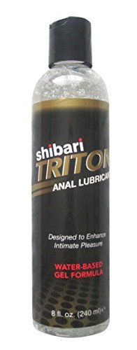 Buy now Shibari Triton Anal Lubricant, Premium Water-Based Gel Formula, Quality