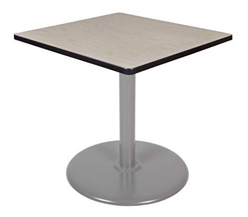 (Regency TVP3030PLGY Via Square Platter Base Table 30