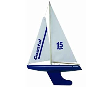 Skipper 15-inch Pond Yacht Coastal Hull (Blue)