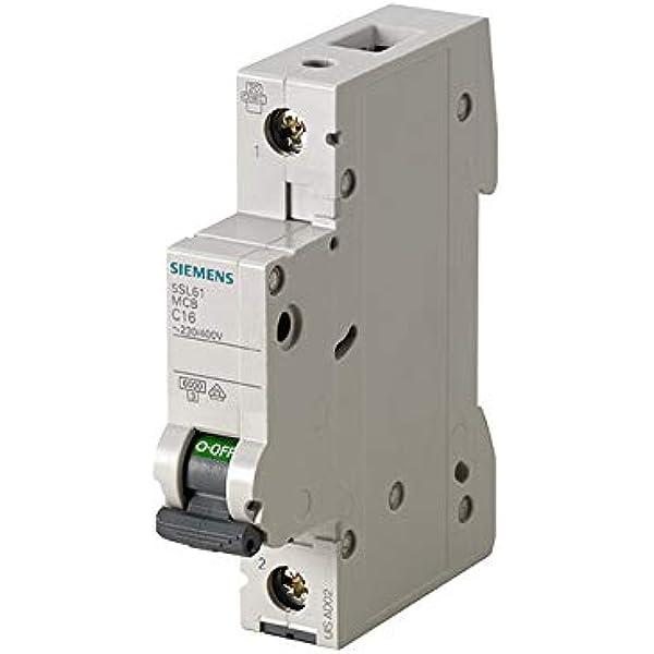 Dispositivo de protección de línea Siemens 5SU1356-6KK16 FI NUEVO