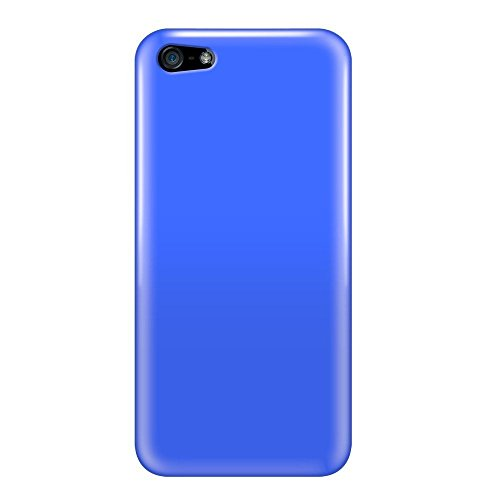Katinkas KATIP51085 Soft Cover für Apple iPhone 5 Candy blau