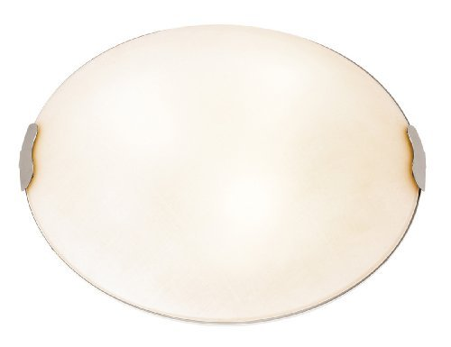 (Access Lighting 23024-BS/TEX 2 Light Linen Flush Mount Ceiling by Access)