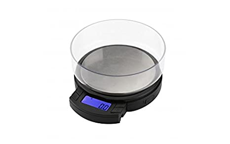 36250c99b44a American Weigh Scale AXIS Series Precision Bowl Digital Pocket Scale, 650g  x 0.01g (AXIS-650)