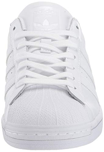 adidas Originals Mens Superstar White/White/White 7.5