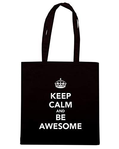 Awesome Calm Tkc0540 Nera Borsa And Shopper Be Keep Tv0nUq