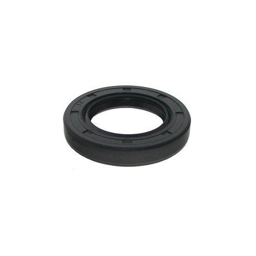 Big Bearing 25X37X6TC Metric Oil Seal, 25 mm Inside Diameter, 37 mm Outside Diameter, 6 mm Width, Double Contact Lips, Stainless Steel/Rubber