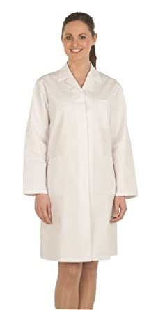 Ladies White Coat / Lab Coat (Chest size 34