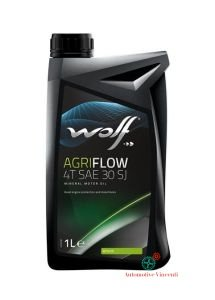 Wolf Aceite Motor agriflow 4T SAE 30 SJ 1 litro: Amazon.es: Coche y moto