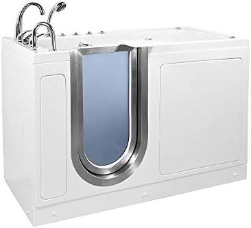 Ella 93217 Ultimate Walk-in Bathtub, 30 x 60 x 38 , White