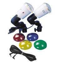 JTL DL-90 Strobe Clamp Kit with One S-45M Master AC Slave Strobe & One S-45 AC Slave Strobe