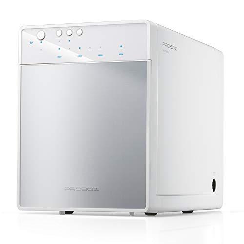 Mediasonic PROBOX 4 Bay 3.5 SATA Hard Drive Enclosure - USB 3.0 & eSATA Support 12TB HDD (HF7-SU3S3) (White)