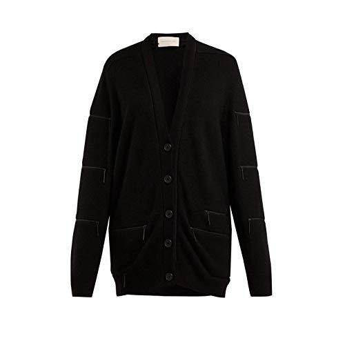 (クリストファー ケイン) Christopher Kane レディース トップス カーディガン Zip-trimmed cashmere cardigan [並行輸入品]