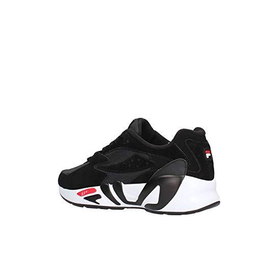 Mindblower Sneakers Scarpe Vintage Uomo Nero Urban Fila CHtFqg