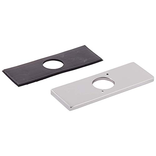 Delta RP78358 Replacement 3 Hole Escutcheon Plate with Gasket, Chrome