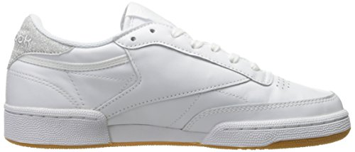 Reebok Kvinnor Club C 85 Diamant Mode Gymnastiksko Vit / Gummi