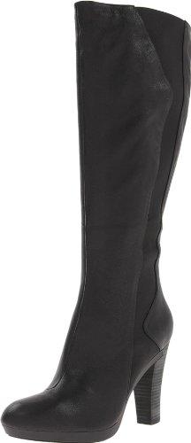 TSUBO Women's Tarian Equestrian Boot,Black,9 M US