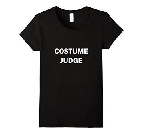 Witty Halloween Costumes (Womens Halloween T-Shirt Costume Judge Sarcastic TShirt Witty Tee XL Black)