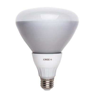 Cree 65w Equivalent BR40 Soft White 2700K Bulb 3-pack