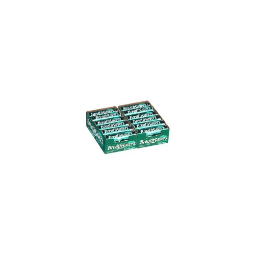 Breathsavers Wintergreen Mints, 24-Count (2 Pack of 12)
