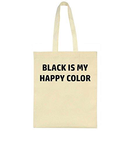 My Idcommerce Color Black Happy Is Bag Tote qEBv8E