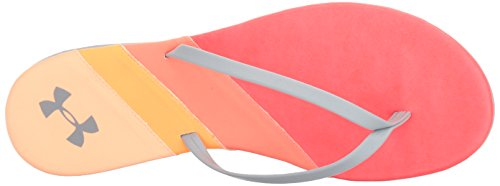 Under Armour Frauen Lakeshore Drive Thong Sirenen Coral / London Orange / Bedeckt Grau
