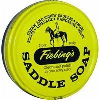 Fiebing's Saddle Soap, 3.5 oz, Yellow ()
