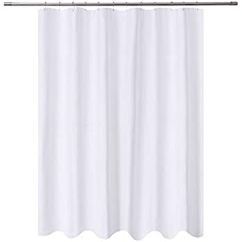 NY HOME Long Shower Curtain Liner Fabric