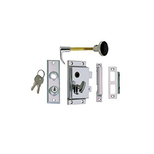 Perko Rim - Perko 0919DP0CHR Reverse with Flush Strike Rim Lock Set