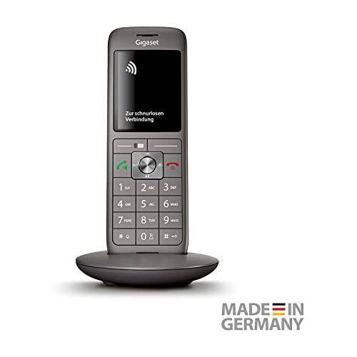 chollos oferta descuentos barato Gigaset CL660HX Teléfono Teléfono DECT Altavoz 400 entradas Servicios de Mensajes Cortos SMS Gris