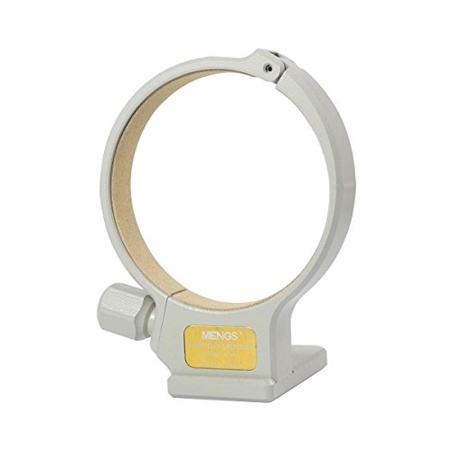 MENGS C II (W) Tripod Mount Collar Ring Aluminum Alloy For Canon EF 70-300mm f/4-5.6L IS USM by MENGS