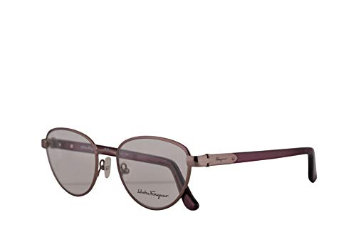 Salvatore Ferragamo SF2145 Eyeglasses 52-18-140 Shiny Light Rose w/Demo Clear Lens 606 SF 2145