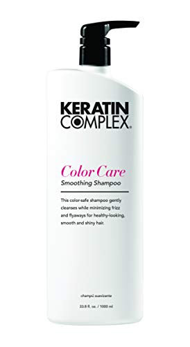Keratin Complex Color Care Smoothing Shampoo, 33.8 oz (Keratin Care Color Shampoo)