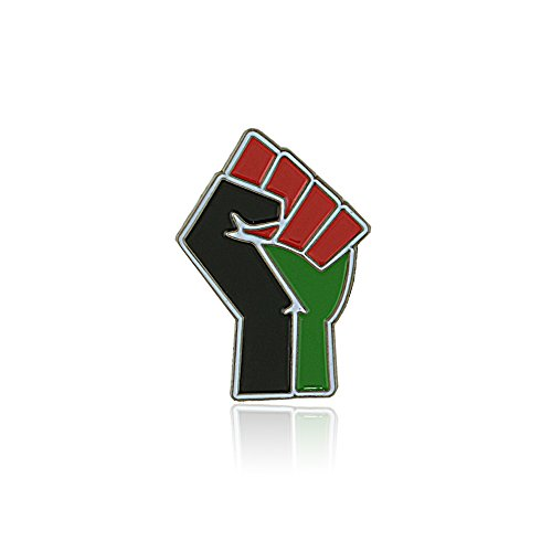 Resist: African American Liberation (Black Power Fist) Lapel Pin