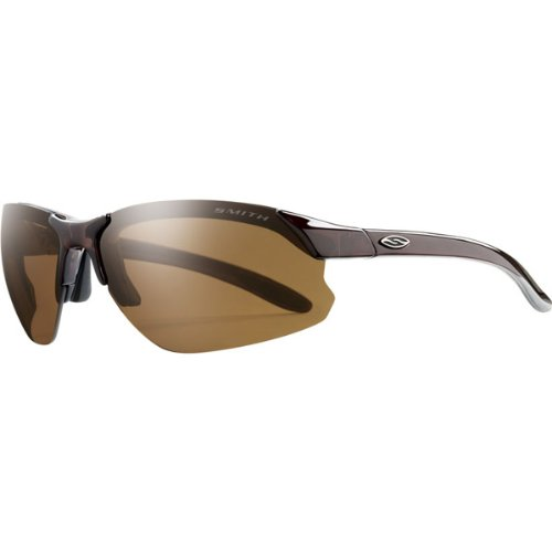 Smith Optics Parallel D-Max Premium Performance Rimless Polarized Outdoor Sunglasses/Eyewear - Brown/Brown / Size 71-15-125