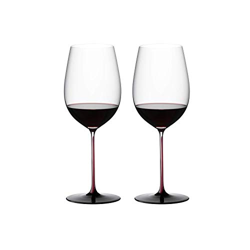 Riedel Sommeliers Black Series Bordeaux Grand Cru Glass, Red/Black ()