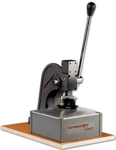 Lassco CR-60 Corner Cutter Corner Rounder for Sign Industry and Metal Applications (CR-60) With 1-1/2 Inch Radius Table ()
