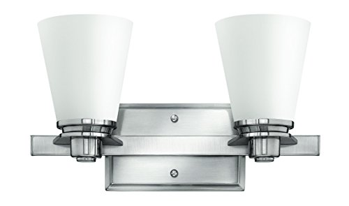 Hinkley 5552BN Traditional Two Light Bath from Avon collection in Pwt, Nckl, B/S, Slvr.finish, ()