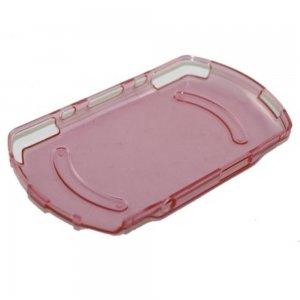 (Full Housing Case Faceplate for PSP GO Crystal Pink)