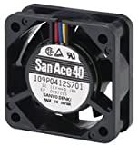 SANYO DENKI - SANACE FANS 109P0424H702 AXIAL FAN, 40MM, 24VDC, 80mA